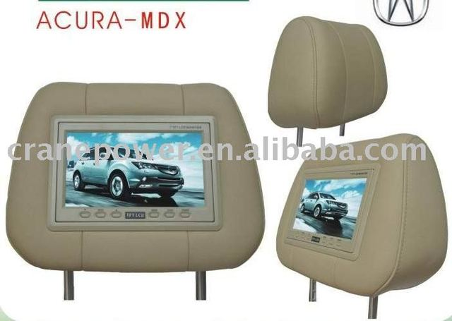 "2 pcs 7"" Headrest Monitor for ACURA-MDX as Car Pillow"