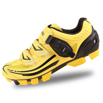 Santic мужская MTB Велоспорт Обувь Zapatillas Ciclismo Велосипедов MTB Велоспорт Обувь Мужчины Рифленая Обувь Zapatos Велосипед