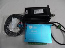 Leadshine NEMA34 86mm 1143ozin 8.0NM 20-50VDC 2phase Stepper motor DSP Closed-Loop Drive kits 86HBM80-01-1000+HBS86