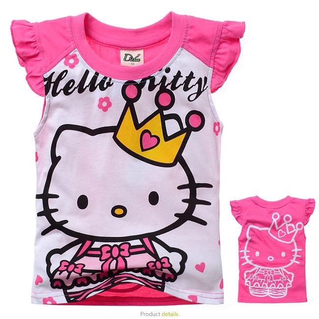 SpongeBob T shirt Boys kids short sleeve T-shirt kids Cartoon tees tops Pure cotton girls T-shirt 100% Cotton