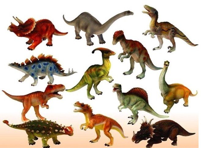 Dinosaur Toy Sets Set/kids Figures Toy Model