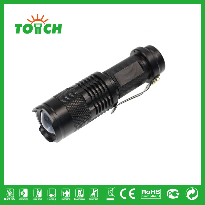 fashion design Focus Beam LED Lanterna Cheap Light Torchlight Outdoor Acticities Lamps Wholesale Home Use Light Torchlight 3001(China (Mainland))