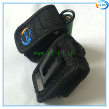 High Quality Nylon Case Pouch Holder Bag Storage For 2 x 18650 Battery with belt clip