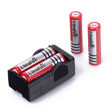 4PCS  5800mAh 3.7v Battery Battery 18650 Dual Wall Charger  Rechargeable Battery + Travel Dual Charger Free Shipping(China (Mainland))
