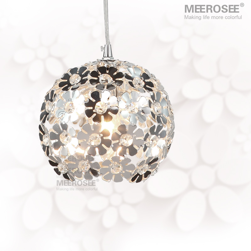 Beautiful Flower Crystal Pendant Light / Lamp/ Lighting Fixture Crystal Pendant Lamp for Dining Room, Bedroom(China (Mainland))