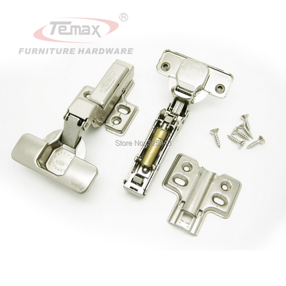 Insert 35mm cup blum cabinet hydraulic kitchen US door hinges brass damper damper soft closing cupboard furniture door hinge