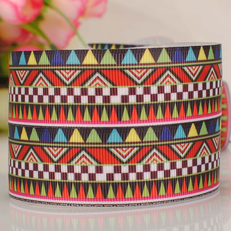 "ruban 1"" chevron tape cartoon Printed Grosgrain satin softball Ribbon DIY wedding handmade fabric hair accessories 714-41(China (Mainland))"