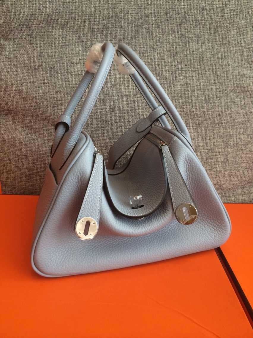 Luxury Branded 26CM Grey Leather inspired designer Shoulder Togo Hand Bags For Women,(China (Mainland))