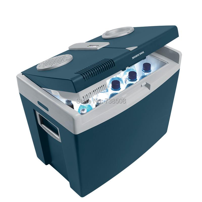 New Big Capacity 35L Car Fridge Portable Car Refrigerator Travel Car Cooler Box 12v Dual Use Refrigerator For Car(China (Mainland))
