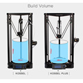 Anycubic 3D Printer Pulley Version Linear Guide rail plus DIY Kit Kossel Linear Delta Large Printing