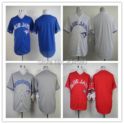 Top quality Cheap man baseball jersey Toronto Blue Jays Jerseys blank plain jerseys canada day jersey Free Shipping(China (Mainland))