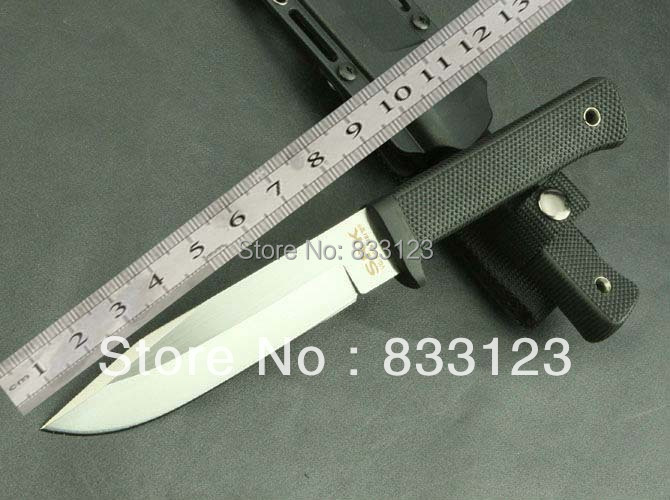 2015 COLD STEEL Knives SRK VG-1 Straight Knife Outdoor Survival Camping Hunting Knife Tactical Free Shipping BEST QUALITY 0682#(China (Mainland))