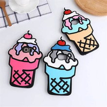 Buy Soft Silicone Ice Cream Cone Case Samsung Galaxy S6 S7 Cute Cartoon Back Case Cover 3D Phone Cases Funda Coque Capa D764 for $3.65 in AliExpress store