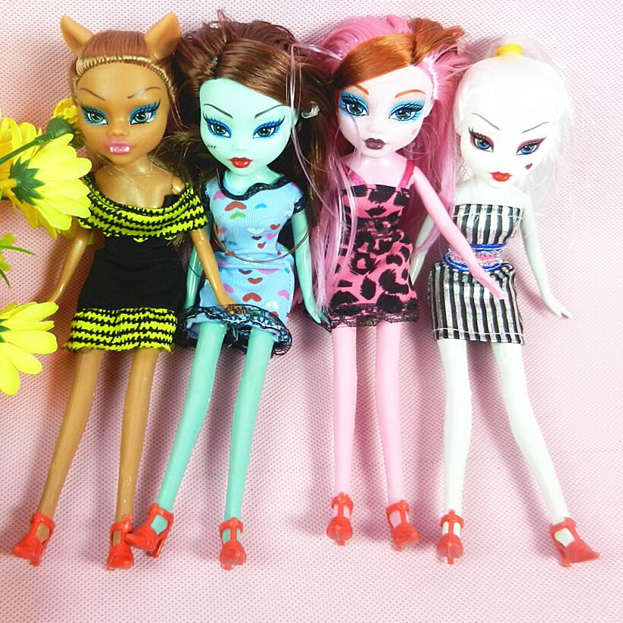 21 cm monster school Doll. New monster girl Toy for Children christmas gift.kids new monster girl toys(China (Mainland))