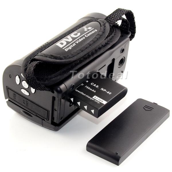 2 7 LCD 270 degree rotation photo camera 16x Digital ZOOM 720p Camera DVR DV Professional