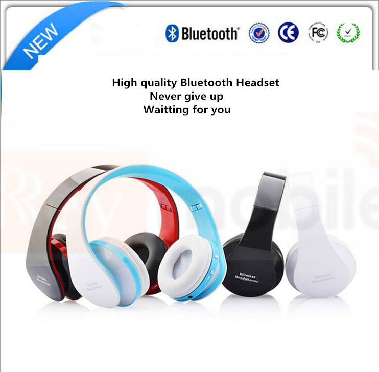 Good Consumer Electronics RD606 Wireless Bluetooth Stereo Headset Bass Audio HD Earphone Handsfree Earphones studio