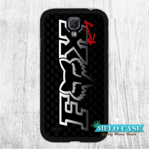 Fox Racing Black Style Extreme Sport Fans Case For Galaxy S6 Edge Plus S5 S4 S3 mini Note 5 4 3 Win i8552 Grand 2 1