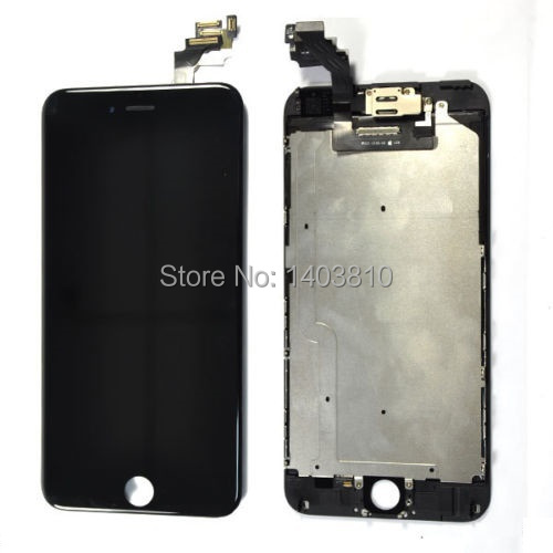 Black Full Display Front Touch Screen LCD Digitizer Display for iPhone 6 Plus 5.5 inch Replacement(China (Mainland))