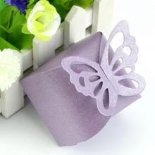 Buy Hot 50 Pcs Butterfly Candy Box DIY Party Baby Shower Wedding Decor Paper Favors Gifts Boxes Wedding Decoration mariage for $5.85 in AliExpress store