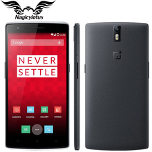 Original OnePlus one Cell Phone 5.5″ 1080P Android 5.1 Octa Core Snapdragon 810 2.5GHz 64Bit 3GB RAM 16GB ROM 13MP Mobile Phone