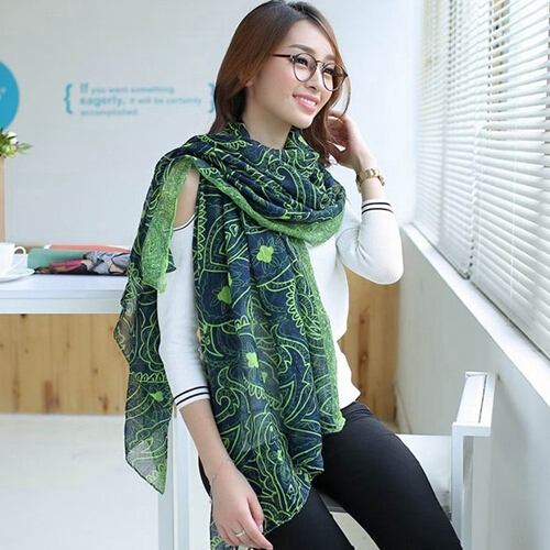 Бесплатная доставка бренд дизайнер мода простой леди зима теплая шифон вуаль шарф платок для женщин 2016 рождественские подарки PD25