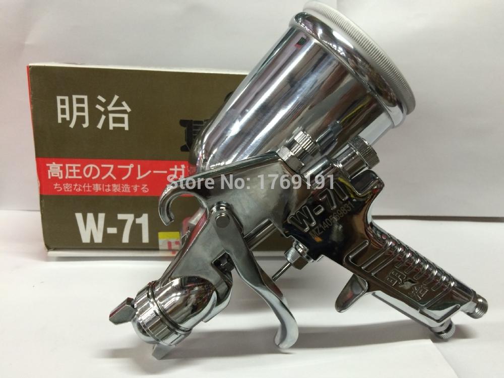 Здесь можно купить  Japan imported Meiji W-71 spray gun gravity paint gun high atomization high leather maintenance sprat gun air brush sprayer   Инструменты