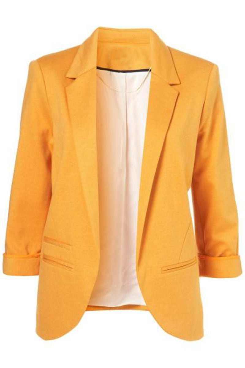 where can i find bright colored womens blazers I love the bright orange color i message from the fashion industry that women bigger than a size 12 aren't different styles of eloquii blazers and they.
