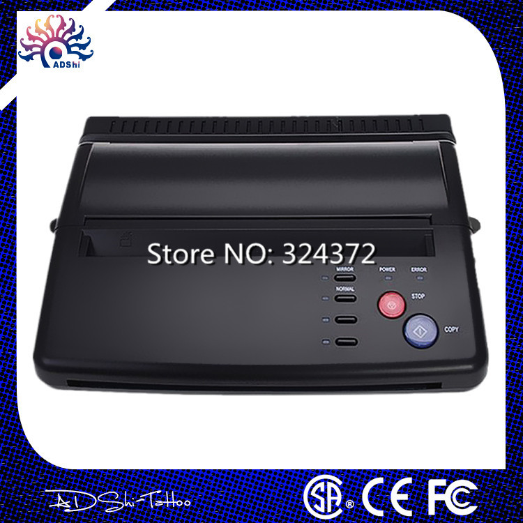 Free shipping by DHL Original Professional Tattoo Thermal Stencil Paper Maker Transfer Copier Printer Machine For Tattoo Supply(China (Mainland))