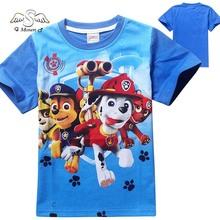 Kids Sweatshirt Toddler Boy Canina Hoodies Summer Children Shirt Sleeve Puppy Patrol Clothes
