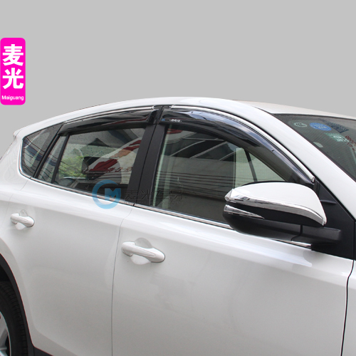 For toyota rav4 2013 2014 2015 Special rain shield cover RAV4 rain eyebrow rain RAV4 rain or shine car styling free shipping<br><br>Aliexpress