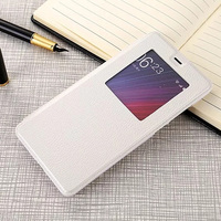 Xiaomi 5S Plus Celular View Window Fundas For Xiaomi MI5S Plus Capa Flip Leather Case Cover With Stand Phone Cases Accessories
