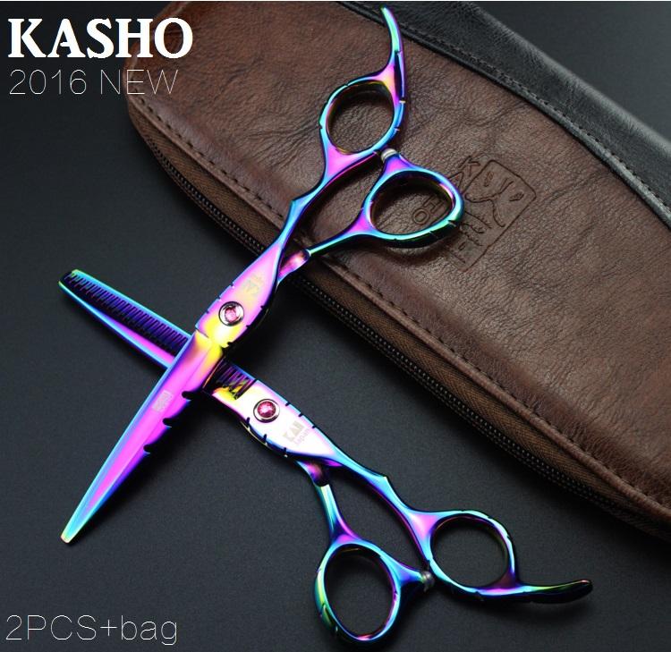 Ножницы kasho tesouras peluquero