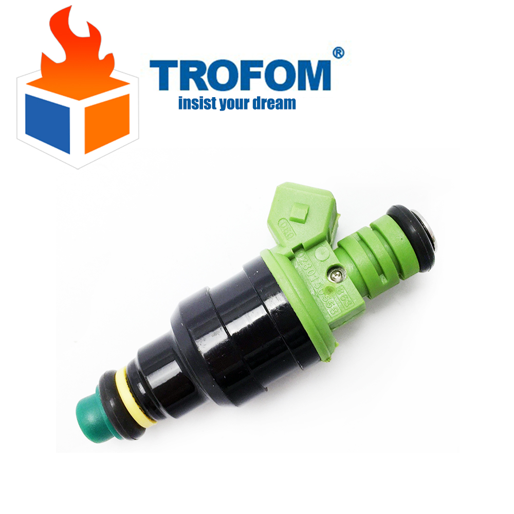 Top Racing fuel injector Engine using For Bosch EV1 Volvo vw Audi GMC Chevrolet Dodge BMW 440cc/min TURBO 42 LB/HR 0280150558(China (Mainland))
