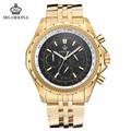 2016 Direct Selling Watch Blackcat Stainless Steel Men Watches Orkina Golden 30m Waterproof Men s Fashion
