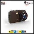 1296P Full HD Dash Cam Dual Cameras Car DVR 4 0 IPS Screen Car Black Box