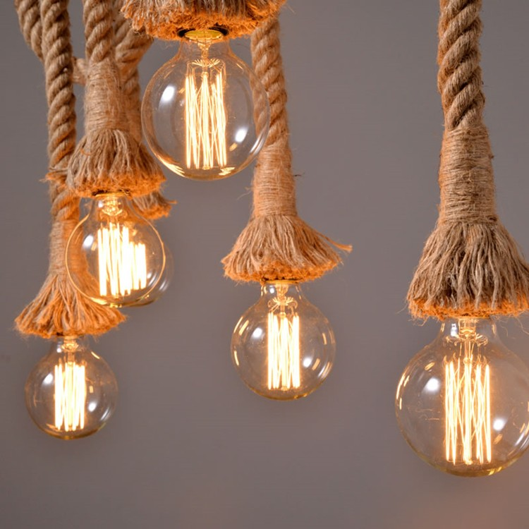 Купить Corda vintage подвесные светильники лампада loft Эдисон кафе, кафе, лампы, бар в стиле, американский кантри