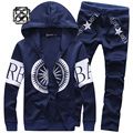 high quality youth teenage sport suits hoodie pant outdoor sportwear Sweatshirt Sweater men Tracksuit