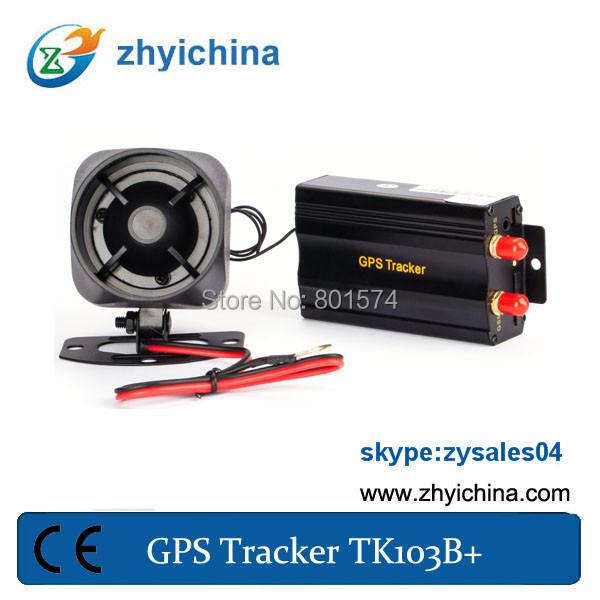 gps trackerTK103B + one year web tracking service(China (Mainland))