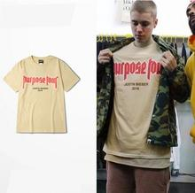 Buy 2016 vfiles justin bieber fear god Purpose Tour Mom don't like T-shirts Cotton Street Fashion Tops Tees Size S-3XL for $14.40 in AliExpress store