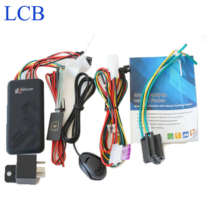 Gps Locator Gsm Tracker Free Shipping!!! Good Quality Vehicle Gprs Gps Tracker Device Gt06 Quad Band Cut Off Fuel Voice Monitor(China (Mainland))