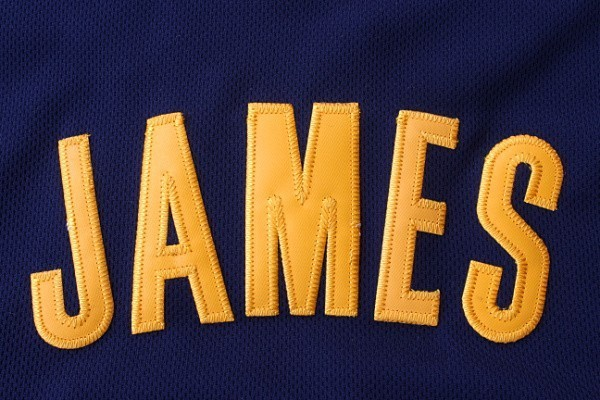 Aliexpress.com : Buy LeBron James Jersey All Star Yellow Blue Home
