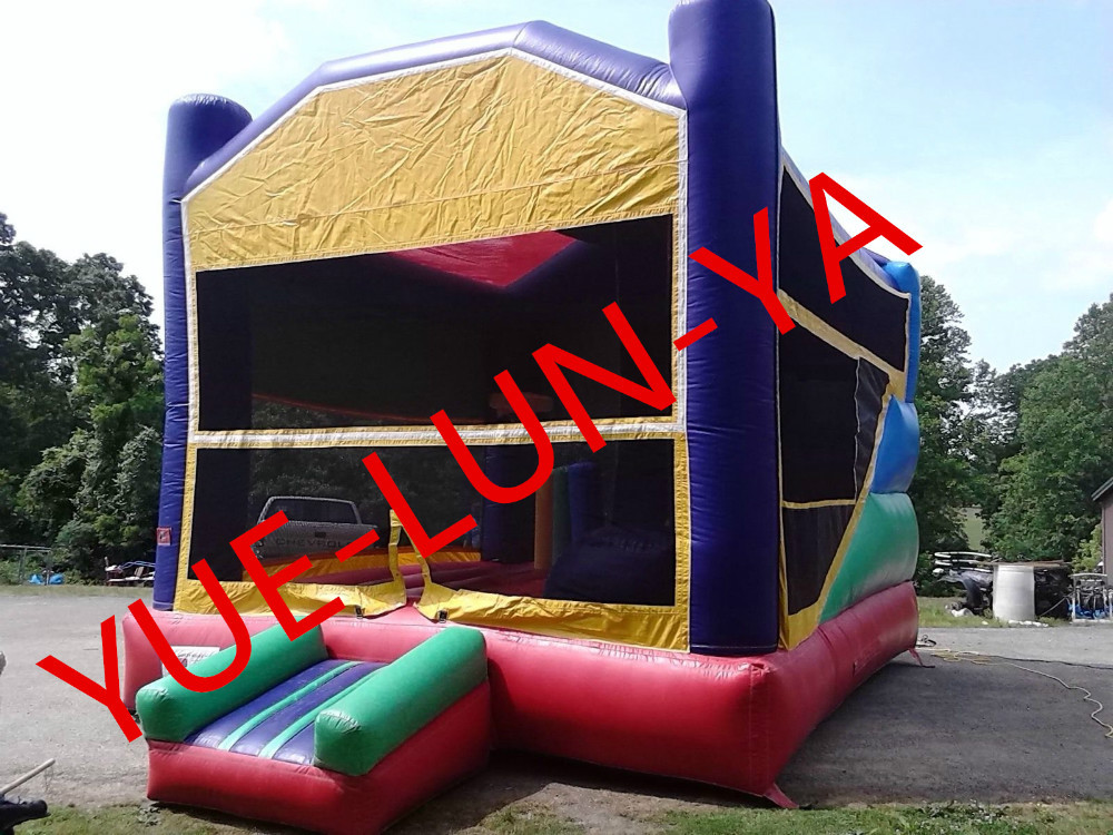 Factory direct inflatable castle, inflatable slide, Double slide bouncer COB-105(China (Mainland))