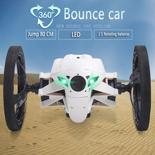 Mini Bounce Car SJ80 RC Cars 4CH 2.4GHz Jumping Sumo RC Car with Flexible Wheels Remote Control Robot Car(China (Mainland))