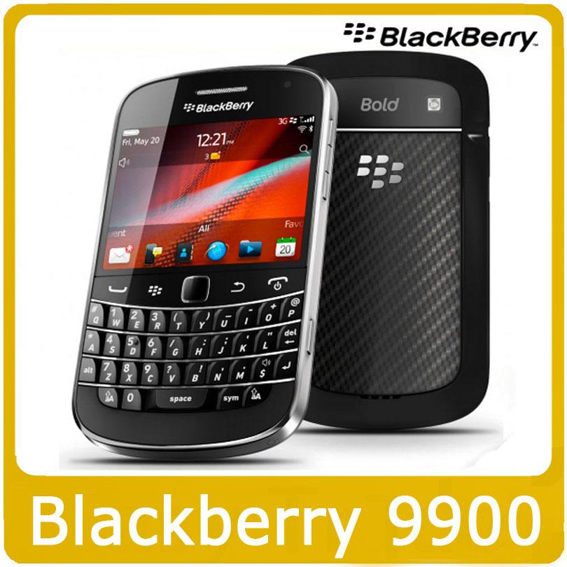 Original 9900 Blackberry Blod Touch 9900 Unlocked 3G Smartphone WiFi GPS 5.0MP Camera QWERTY keyboard Refurbished(China (Mainland))
