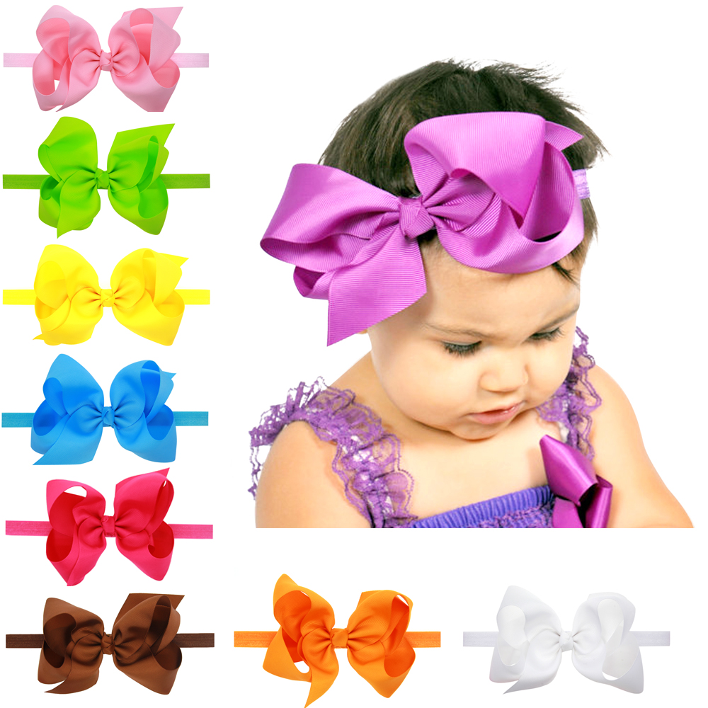 baby girls headbands for fashion girl top knot cute turban headband solid hair head band wrap wraps elastic accessories headwear(China (Mainland))