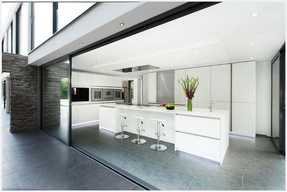 2015 new design modern modular kitchen cabinet customizes white kitchen furniture 2pac kitchen door(China (Mainland))