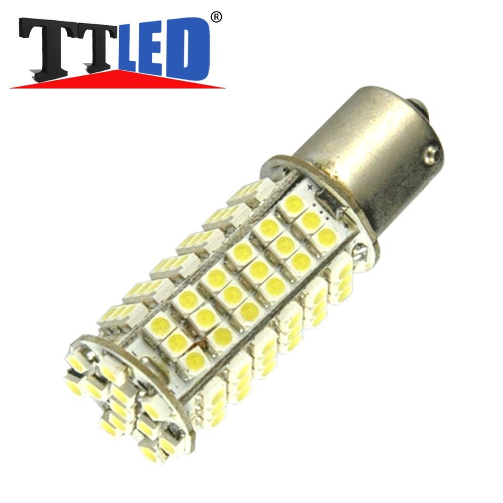 100X 1156 BA15S BAY15D P21W 102 SMD 1210 3528 102smd LED Wedge 12V Car Turn signal Backup Stop brake LED bulb light #TF37-2(China (Mainland))