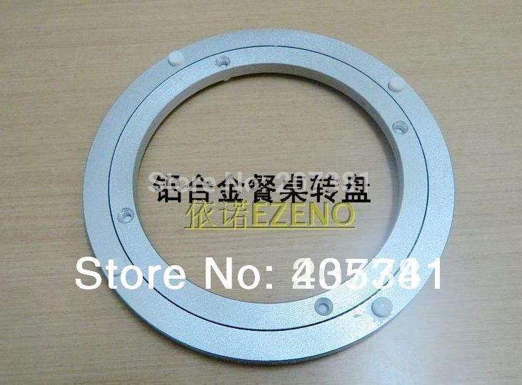 FREE SHIPPING 450mm (18'') Lazy Susan Aluminum Bearing Round Turntable Bearings Swivel Plate*(China (Mainland))