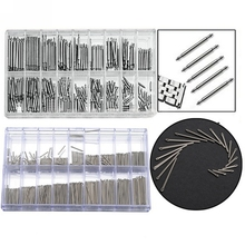 New 360 pcs Stainless Steel Watch Band Link Cotter Pins Repair Tool Sets 18 Size 6mm-23mm(China (Mainland))