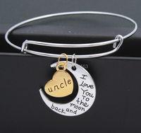 New Trendy  For 2015 Best Gifts For Family Bracelets Letter
